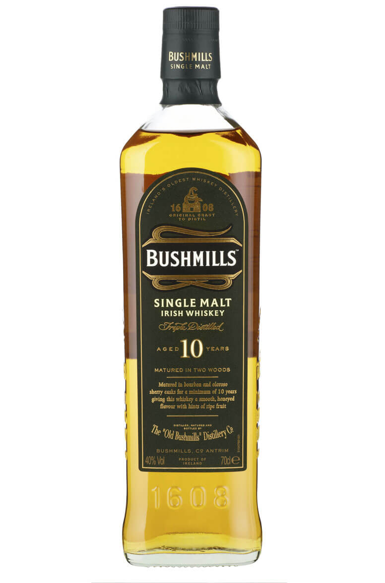 whisky review 549 - Bushmills 10yo Irish Whiskey - YouTube