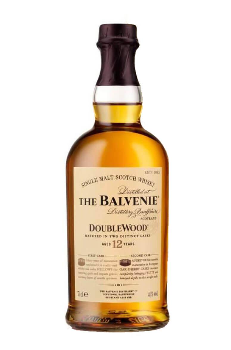 balvenie double wood 12-year-old single malt scotch